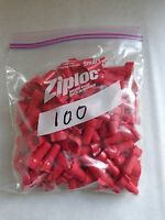 Ideal 30-452 Wing-nut Wire Connector Bag Of 100 Pieces Red