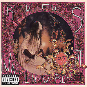 RUFUS WAINWRIGHT - Want Two [PA] CD w/ live performance DVD [B510]