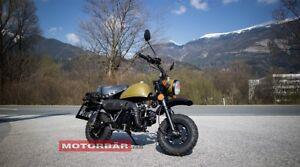 Skyteam Monkey / Gorilla 125 Kleinmotorrad Sonderpreis nur ca. 75 kg für Camping