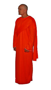 Orange Afficher Moine Costume Monk Bouddhiste Robe Titre Bouddha Shaolin D'origine Robes Détails Sur Fantaisie Le Thai rxCBdoeW