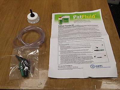 Patfluid PAT Fluid Transfer Kit with Bottle