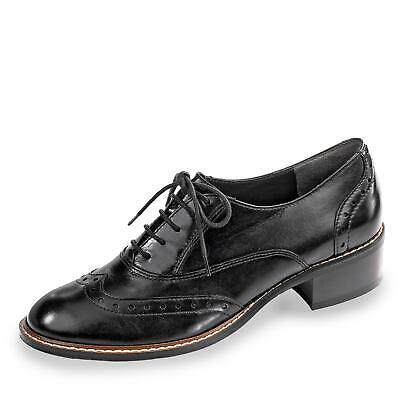 Paul Green Damen Schnürschuh Halbschuh Businessschuh Absatzschuh Schuhe schwarz | eBay