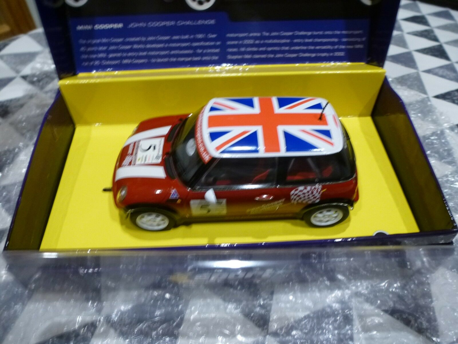 Scalextric NEW 1 32 C2484a Mini Cooper John Cooper Challenge 5  For Collectors