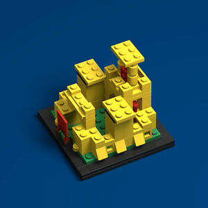 Lego 60th Anniversary 375 Castle Pdf Instructions Ldd Files Ebay