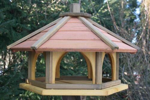 VOGELHAUS aus HOLZ Vogelhäuschen Vogelhäuser Vogelfutterhaus XXXL