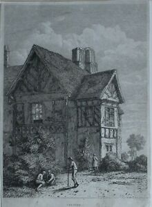 c1815-ANTIQUE-PRINT-CHESHIRE