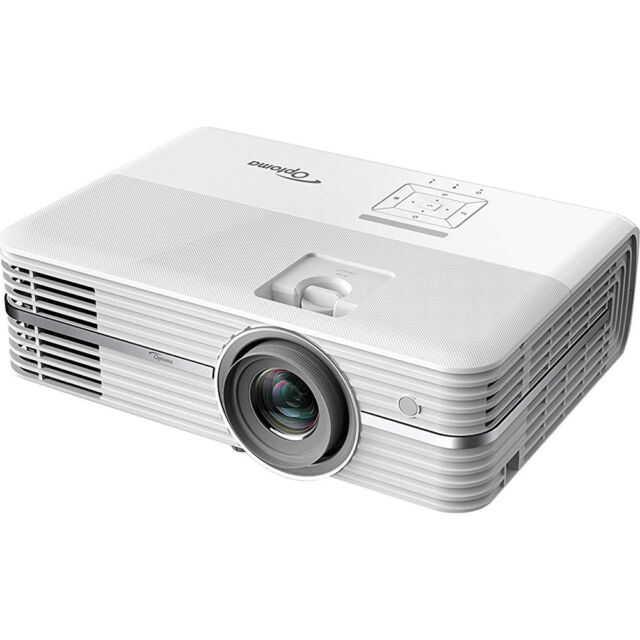 Optoma UHD50 4K UHD DLP Home Theater Projector w/ Dual HDMI 2 0 & HDR  Technology