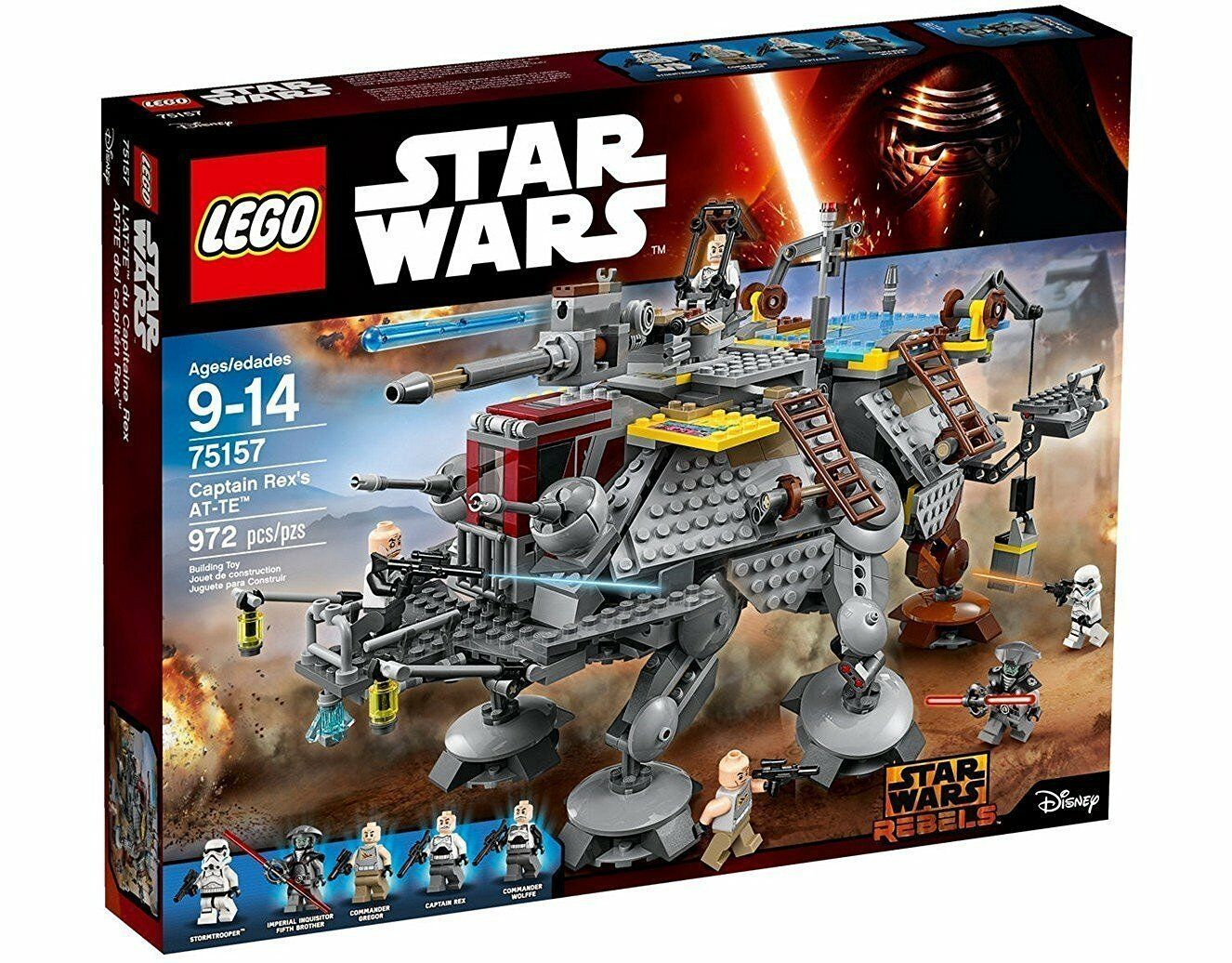 Lego Star Wars™ 75157 Captain Rex At-Te ™ Neuf Emballage D'Origine Misb
