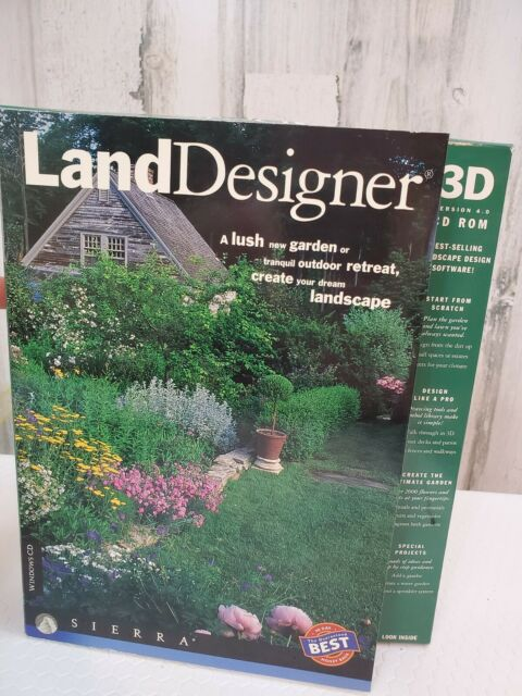 3D Version 4.0 Landscape Design Software Windows 95/3.1 | eBay