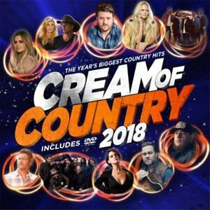 CREAM-OF-COUNTRY-2018-VARIOUS-ARTISTS-CD-amp-DVD-REGION-0-PAL-NEW