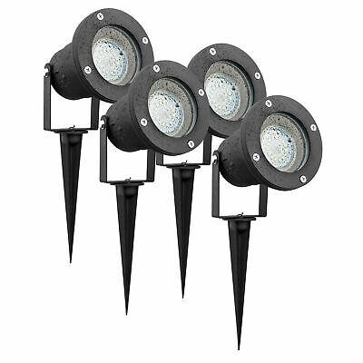 6//8er 3W LED Gartenstrahler Garten IP65 Spotbeleuchtung mit Erdspieß Ausse DHL