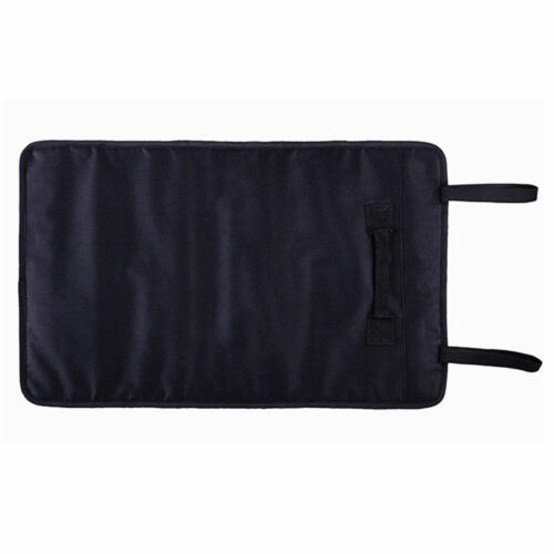 Multi-function Black Oxford Cloth Reel Roll Tools Bag Storage Pouch Car Portable