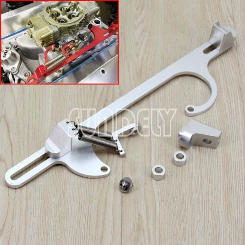 High Quality 4150 4160 Series Silver Billet Aluminum Throttle Cable Bracke NEW!
