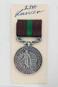 BRITISH-COLONIAL-ARMY-DEFENCE-OF-OOKIEP-MEDAL-CAPE-COPPER-MINING-Co-BOER-WAR-BOX