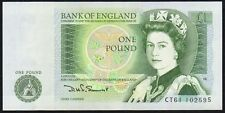 B341 SOMERSET 1981 £1 BANKNOTE * CT61 102595 * EF+ *