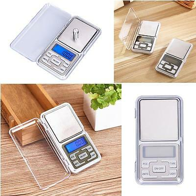 Pocket Digital Jewelry Scale Weight 500g x 0.1g 0.01g Balance Electronic Gram RT