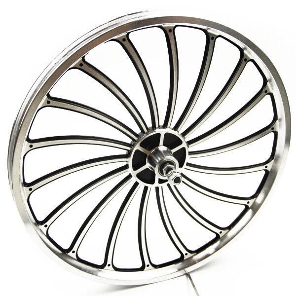 Aluminum  Bicycle Front or Rear Wheel 20 X 1.75 2.125 2.5'' eBike Chopper Perfect  100% fit guarantee