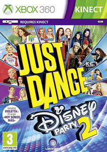Just Dance Disney Party 2 Xbox 360 Kinect Game In Excellent