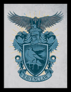 HARRY POTTER ILLUSTRATED CREST POSTER 22x34 BOOKS ROWLING 16723 HOGWARTS