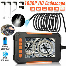 165ft Industrial Endoscope 1080p Hd 43 Screen Borescope Inspection Camera Us