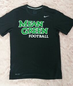 52031f4a Nike Men's T Shirt Mean Green Football Team Dri Fit Athletic ...