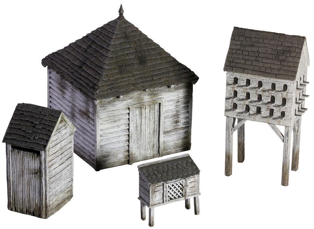 BRITAINS 51038 - 18th 19th Century American Farm Outbuilding Set No.1