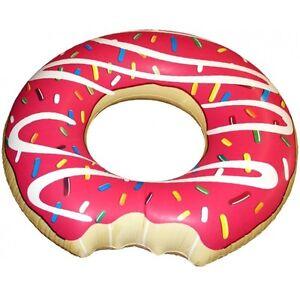 Aufblasbarer-Riesen-Donut-120-cm-Durchmesser-Schwimmring-Schwimm-Ring-angebissen
