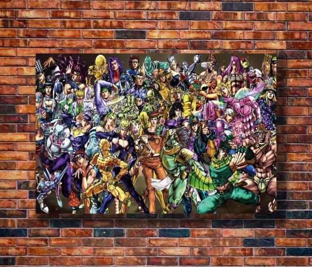 "JoJos Bizarre Adventure 36x24/"" Wall Art p1614 Poster Studio B"