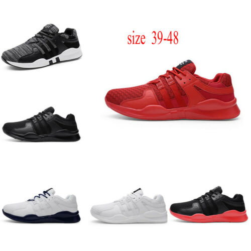 Men Athletic Outdoor Flyknit Breathable Running Sports Sneakers Shoes Sz 39-48