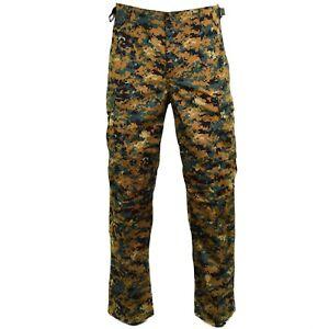 Genuine-Guinee-Bissau-army-pants-RipStop-digital-savana-camo-military-issue-NEW