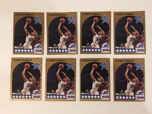 1990-91-NBA-HOOPS-1-CHARLES-BARKLEY-ALL-STAR-76ERS-HOF-LOT-OF-8