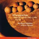 Weiss: Concerto for two lutes/Suites von Bernhard Hofstoetter,Dolores Costoyas (2009)