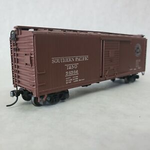 Athearn-BB-Southern-Pacific-T-amp-NO-38366-DS-Wood-40-039-Boxcar
