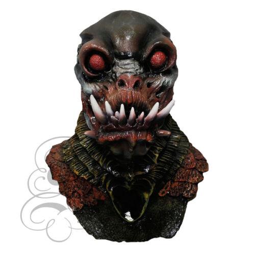 Halloween in Lattice Orrore ALIENO mostro mutante creatura Costume Fantasia Vestirsi Maschera