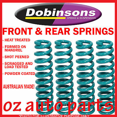 """LANDROVER DISCOVERY SERIES 1 91/3/99 F & R DOBINSONS 2"""" INCH RAISED COIL SPRINGS"""