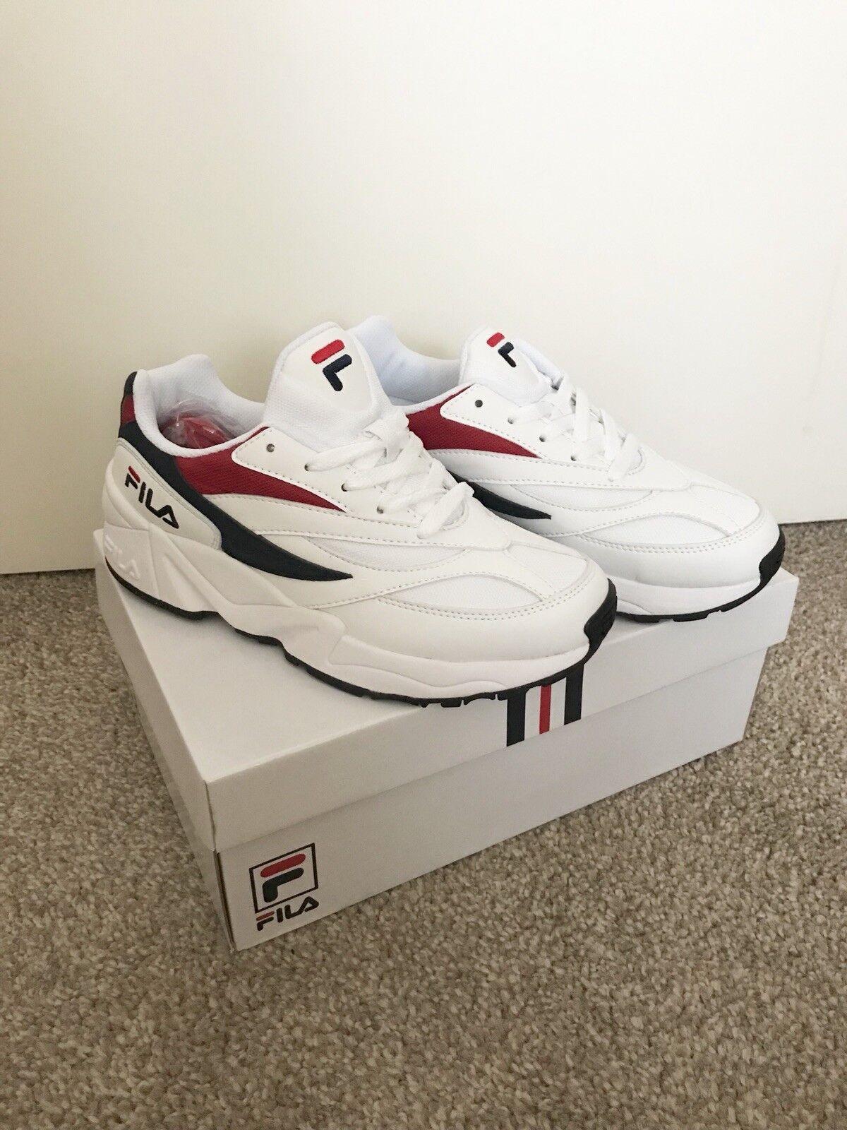 Fila Venom 94 White/red/navy Womens Comfortable Brand discount