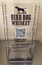 1 Bird Dog Whiskey Acrylic Counter Display 8lx6 12wx16 14hpart 70819bd
