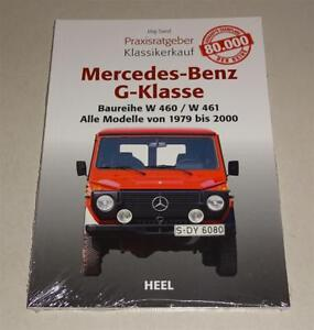 Practical-Guide-Book-Classic-Purchase-Mercedes-Benz-G-Class-W-460-461-463-1979
