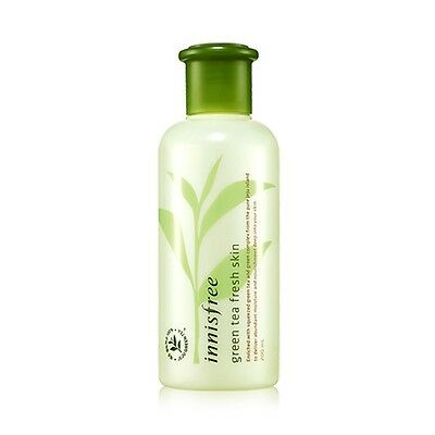 [Innisfree] GREEN TEA FRESH SKIN 200ml 2014 UPGRADE