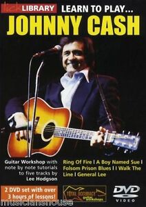 lick library learn to play johnny cash ring of fire a boy named sue guitar dvd ebay. Black Bedroom Furniture Sets. Home Design Ideas