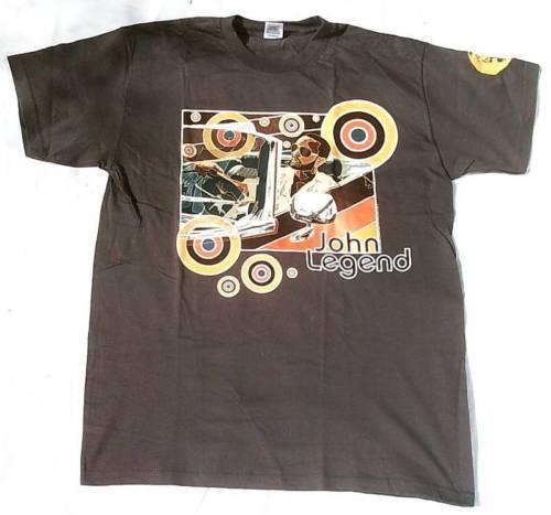 John Legend concert tour 2007 antranzit t-shirt L