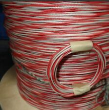 Thermocouple Wire Type J Fiberglass Twisted Sold By The Yard Only 40ft
