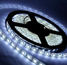 White LED Flexible SMD Strip Light 5M 24V 5050 LED Strip IP65 Waterproof