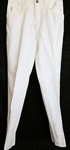 Armani-Jeans-Old-Stone-Linen-Blend-Off-White-Ivory-Pants-size-31