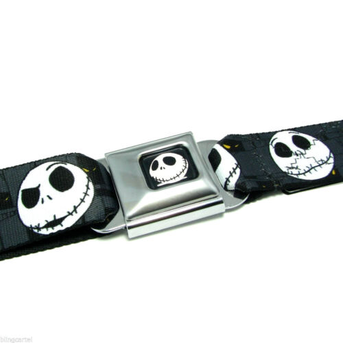 Nightmare Before Christmas Logo Licensed Seat Belt Seatbelt Style Buckle Down