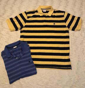2-Brooks-Brothers-346-Men-s-striped-Performance-Polos-Original-Fit-Shirts-XL-EUC