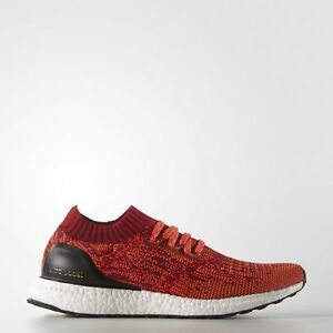 ADIDAS-ULTRA-BOOST-UNCAGED-PK-RED-tan-turtle-yeezy-Gr-EU-43-1-3-US-9-5-NEW