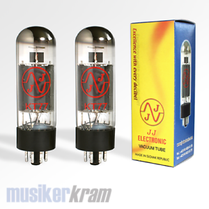 JJ-KT77-Matched-Pair-Duett-Roehre-Power-Tube-Amp-Valve-Tesla