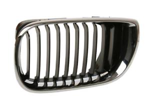 BMW-3-E46-Vorne-Kuehler-Links-Gitter-51137030545-7030545-Neu-Original