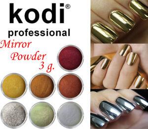 Image Is Loading Kodi Professional Nail Art Polish 034 Mirror Powder